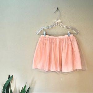 Sparkly Glittery Pink Skirt OshKosh B'gosh Size 12